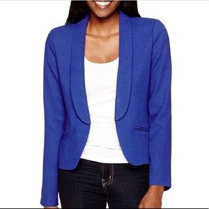 Decree Royal Blue Blazer - New with tags